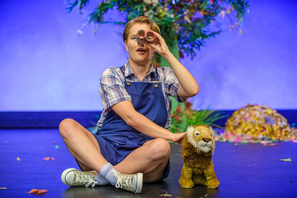 David exploring - A Lion in the Meadow and Other Stories